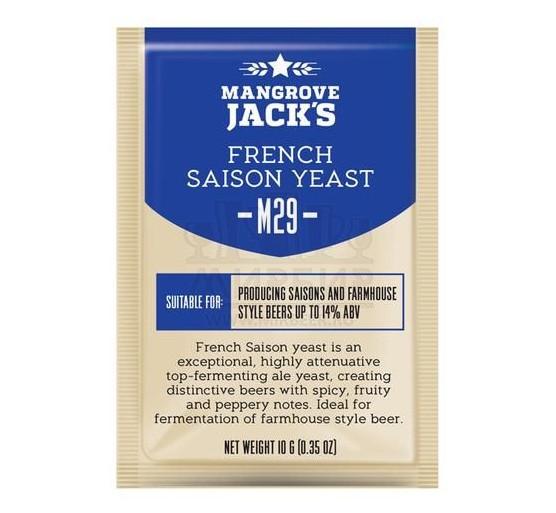 Дрожжи Mangrove Jack's French Saison M29, 10 г