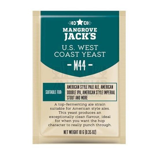 Дрожжи Mangrove Jack's US West Coast M44, 10 г