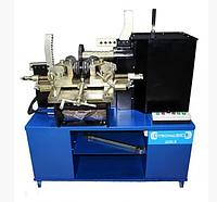 Универсальный станок для литых и стальных дисков STRONGBEL 22SLE (2 скорости + электропривод вала + электрогид