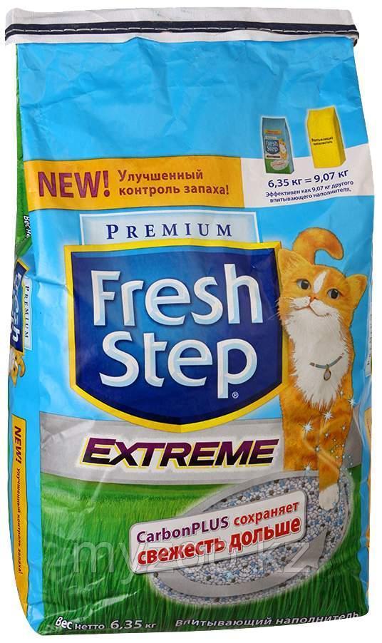 Fresh Step Тройной контроль запахов впитывающий наполнитель 15,87 кг/30л