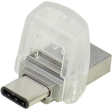 USB Флеш 32GB 3.0 Kingston OTG DTDUO3C/32GB металл, фото 2
