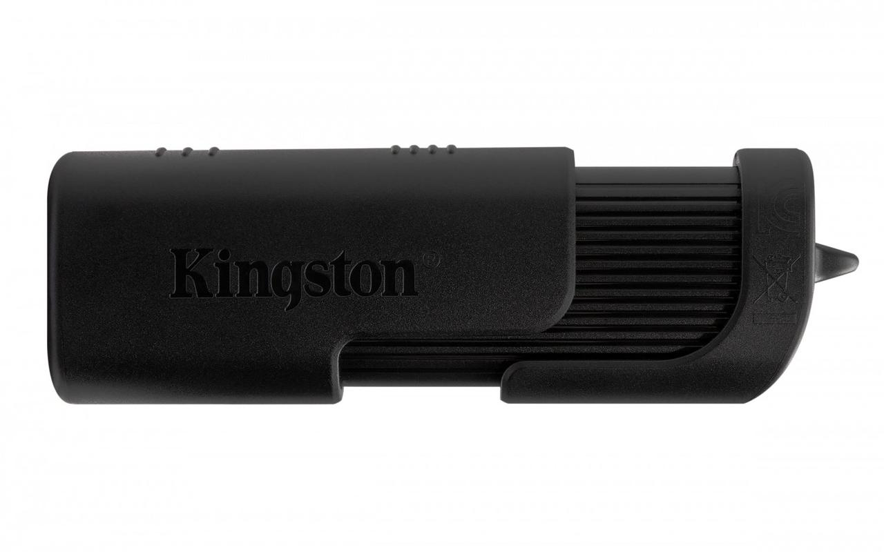 USB Флеш 64GB 2.0 Kingston DT104/64GB черный