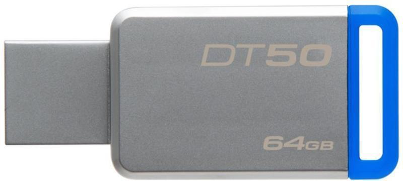 USB Флеш 64GB 3.0 Kingston DT50/64GB металл, фото 2