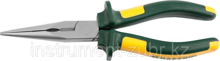 """Тонкогубцы KRAFTOOL""""KRAFT-MAX"""",Cr-Mo,маслобензост двухкомп рукоятки,шарнирное соединение 200мм, фото 2"""