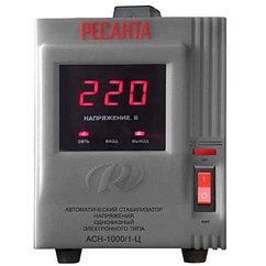 Стабилизатор 1000 Вт (1кВт) напольный Ресанта
