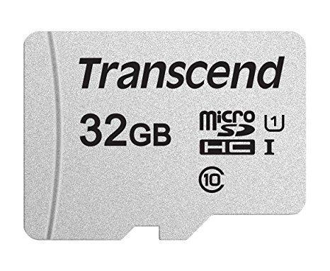 Карта памяти MicroSD 32GB Class 10 U1 Transcend TS32GUSD300S, фото 2