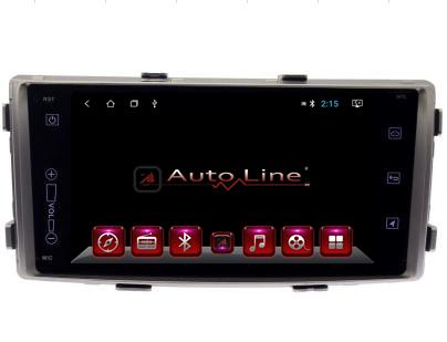 Автомагнитола AutoLine Toyota Fortuner/Hilux 2013-2016 ПРОЦЕССОР 4 ЯДРА (QUAD CORE)