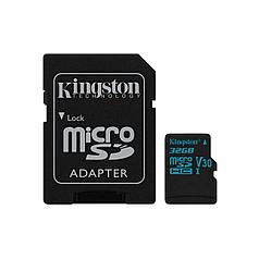 Карта памяти MicroSD 32GB Class 10 U3 Kingston SDCG2/32GB