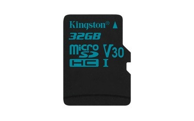 Карта памяти MicroSD 32GB Class 10 U3 Kingston SDCG2/32GBSP