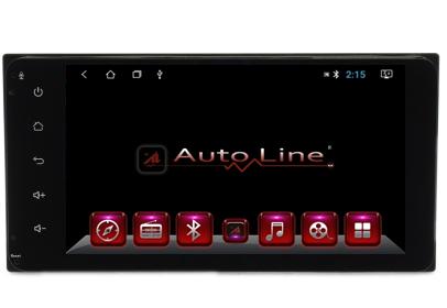 Автомагнитола AutoLine Toyota Universal ПРОЦЕССОР 4 ЯДРА (QUAD CORE)