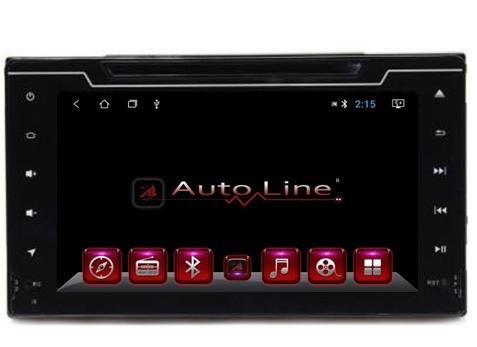 Автомагнитола AutoLine Toyota Corolla 2017-2018 ПРОЦЕССОР 4 ЯДРА (QUAD CORE), фото 2
