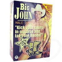 Надувной мужчина Big John (сломана крышка клапана)