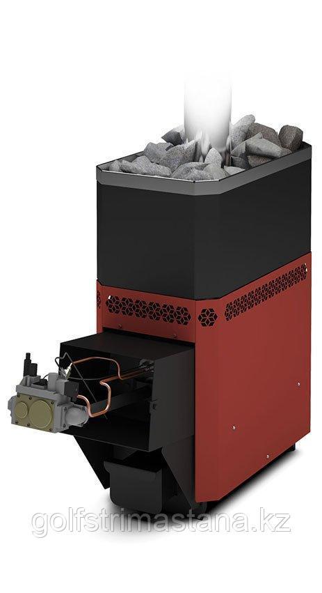 Печь-каменка, (до 18 м3), газовая, Русь-18 Л Профи с АГГ20П