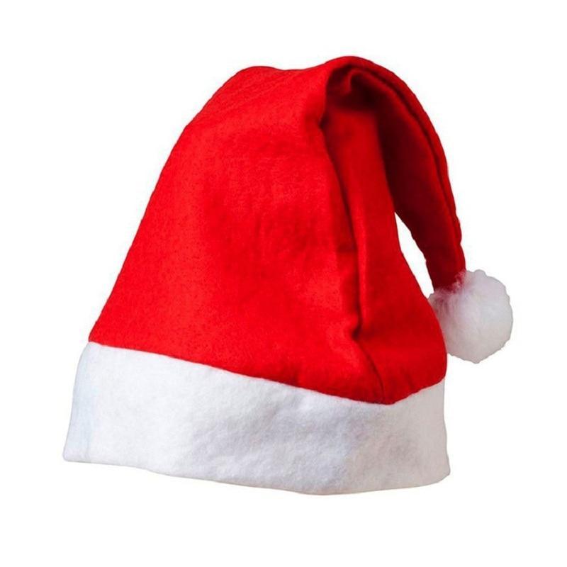 Новогодняя шапочка Санты (из флиса)