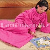 Плед с рукавами Снагги Бланкет (Snuggie Blanket) розовый
