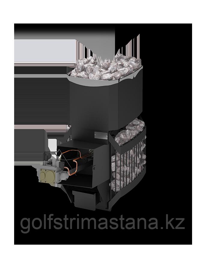 Печь газовая для бани и сауны Русь-Сетка 12 Л с АГГ13П