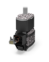Печь газовая для бани и сауны Русь-Сетка 12 Л с АГГ13П, фото 1