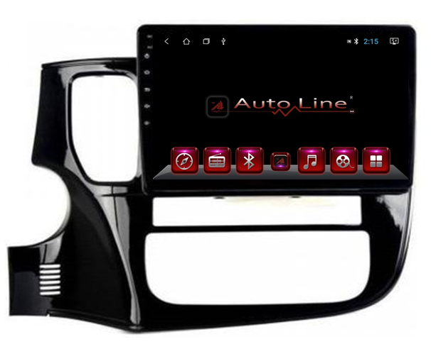 ANDROID 8.1.0 Mitsubishi Outlander 2014-2018г HD ЭКРАН 1024-600 ПРОЦЕССОР 4 ЯДРА (QUAD CORE)