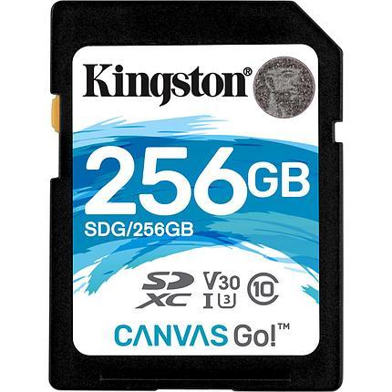 Карта памяти SD 256GB Class 10 U3 Kingston SDG/256GB, фото 2