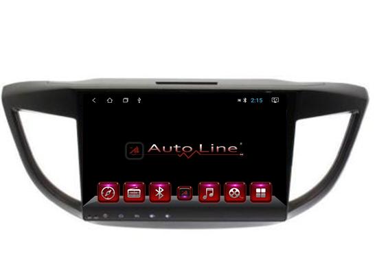 Автомагнитола AutoLine HONDA CR-V 2013-2015 HD ЭКРАН 1024-600 ПРОЦЕССОР 8 ЯДЕР (OCTA CORE)