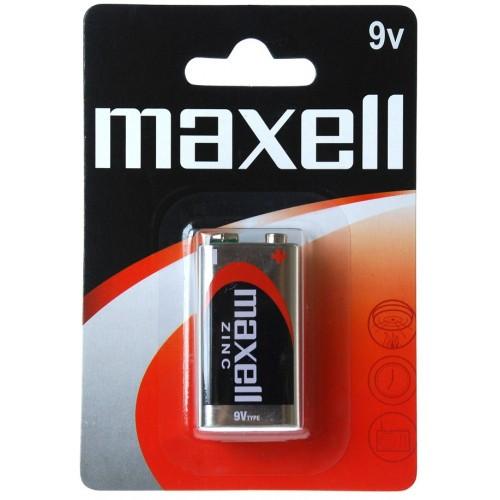 Батарейка солевая     Maxell 9V крона