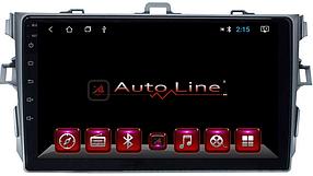 Автомагнитола AutoLine Toyota Corolla 2007-2013  HD ЭКРАН 1024-600 ПРОЦЕССОР 8 ЯДЕР (OCTA CORE)