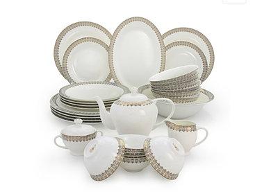 Акку столово-чайный сервиз с пиалами на 12 персон