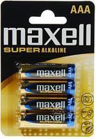 Алкалиновая  батарейка   Maxell Alkaline blist LR3, AAA