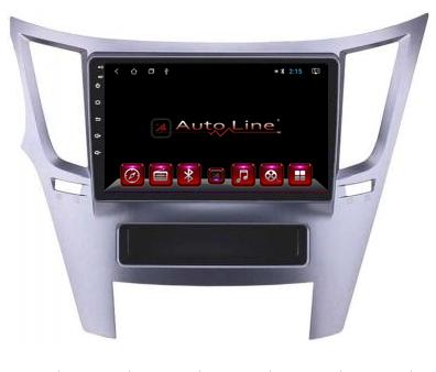 ANDROID 8.1.0 Subaru Outback 2009-2014г. HD ЭКРАН 1024-600 ПРОЦЕССОР 4 ЯДРА (QUAD CORE)