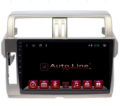 Автомагнитола AutoLine Toyota Prado 155 2014-2015 ПРОЦЕССОР 8 ЯДЕР (OCTA CORE), фото 2
