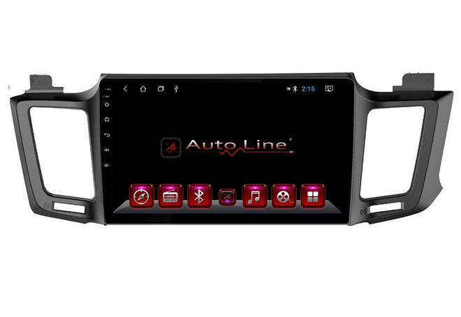 Автомагнитола AutoLine Toyota RAV4 2013-2017 ПРОЦЕССОР 8 ЯДЕР (OCTA CORE)