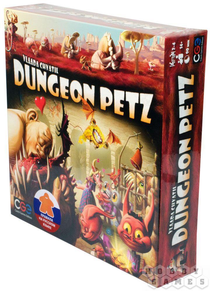 Настольная игра Duengeon Petz