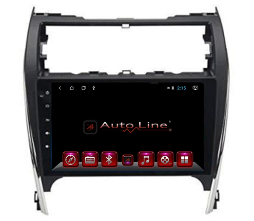 Автомагнитола AutoLine Toyota Camry 50 USA ПРОЦЕССОР 4 ЯДРА (QUAD CORE)