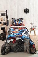 Комплект постельного белья Ozdilek Gri Superman Stone 1.5сп Ранфорс