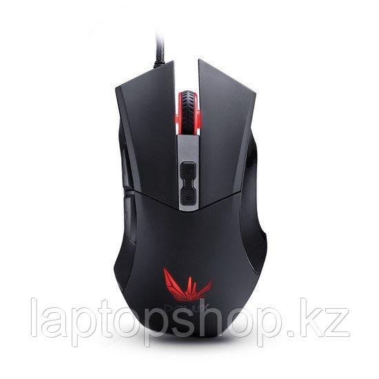 Мышь проводная Mouse Delux DLM-555OU, Игровая, Оптическая