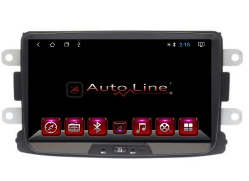 Автомагнитола AutoLine Renault Duster/Sandero/Logan 4-ядерный