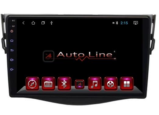 Автомагнитола AutoLine Toyota RAV4 2007-2013 ПРОЦЕССОР 4 ЯДРА (QUAD CORE), фото 2