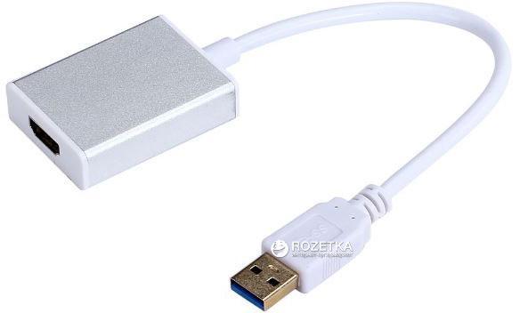 Адаптер-переходник с USB 3.0  на HDMI