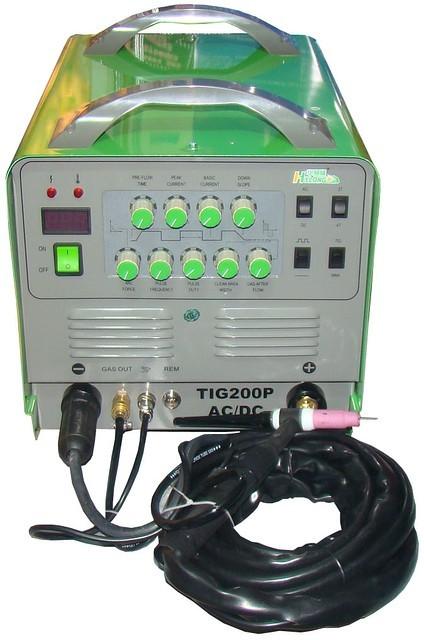 Аппарат сварочный инверторный для аргонно-дуговой сварки Hylong TIG 200P AC/DC