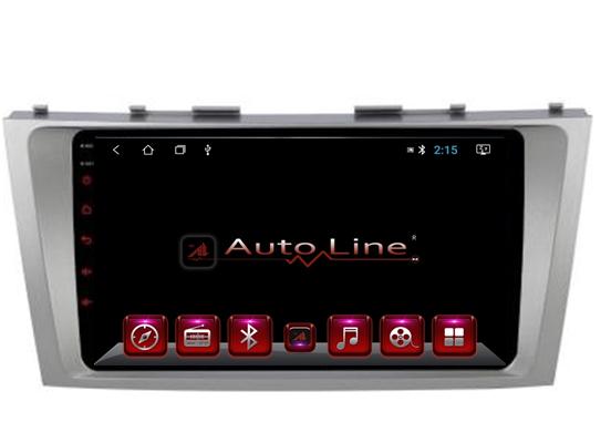 Автомагнитола AutoLine Toyota Camry 40/45 Grey Edition ПРОЦЕССОР 4 ЯДРА (QUAD CORE)