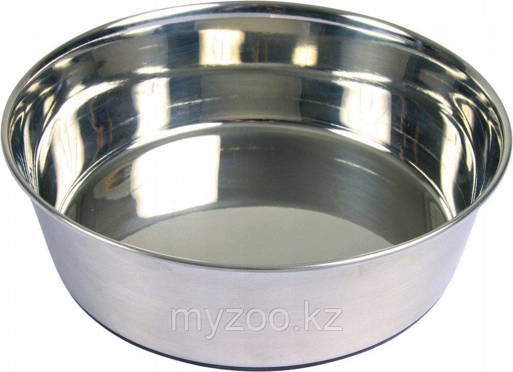 Миска металическая прорезиненная   1 литр