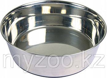 Миска металическая прорезиненная   0,5 литр