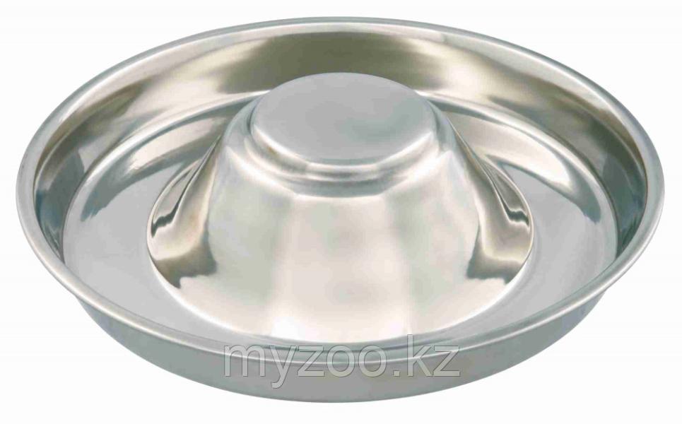 Миска металлическая прорезиненая 1,4 л для кормления щенков