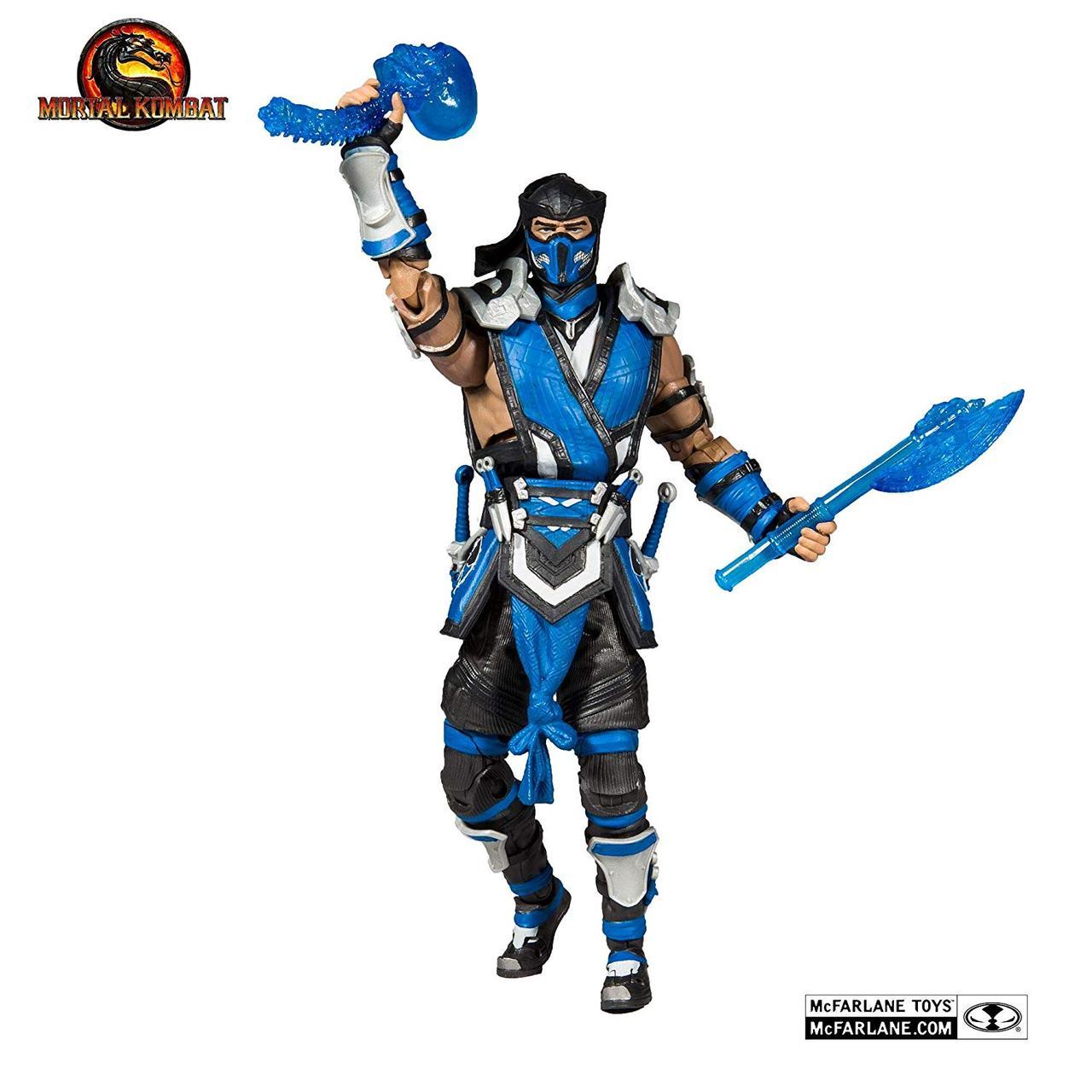 Mortal Kombat Коллекционная фигурка Саб-Зиро (с оружием)