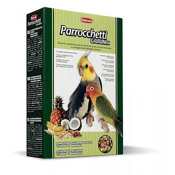 Padovan GRANDMIX Parrocchetti Основной корм для средних попугаев
