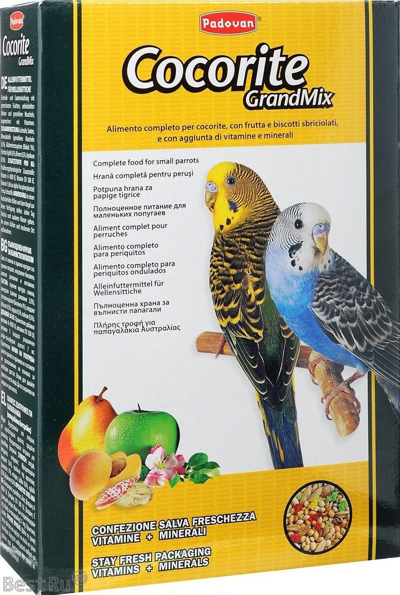 Padovan Cocorite GrandMix Корм для волнистых попугаев