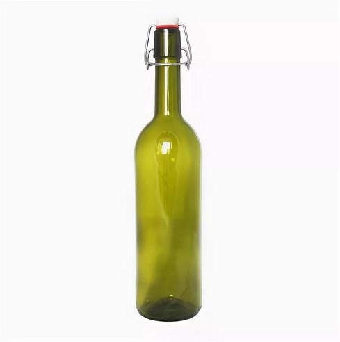 Бутылки винные с бугельной пробкой, 0,75 л,