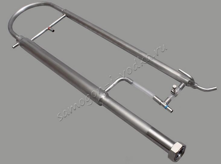 Дистиллятор с укреплением (пленочная колонна) ХД/4 - 2500ПК