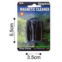 """Магнит для очистки стекол """"S"""" 5,5х3,5 см."""
