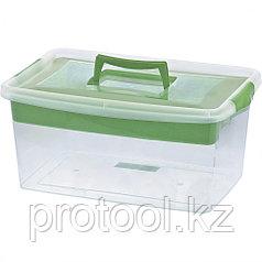 Контейнер для хозяйственных нужд с лотком, 9 л Сибртех